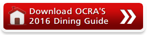 Download OCRA'S 2016 Dining Guide